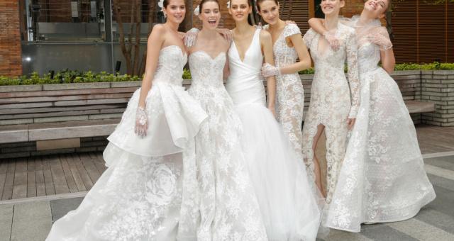 514cde978a67 Nejkrásnější svatební šaty z Bridal Fashion Weeku